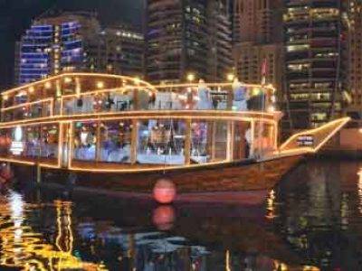 Dhow Dinner Curise Creek