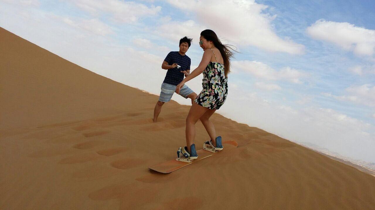 desert safari Dubai activities