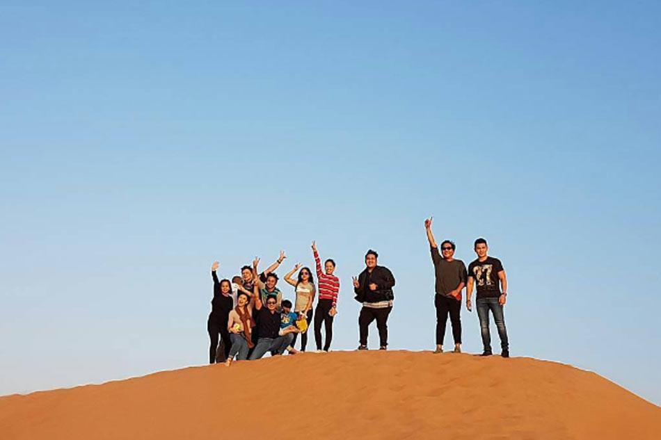 Desert safari rides